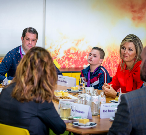 Koningin Maxima Bezoekt PfS Breda