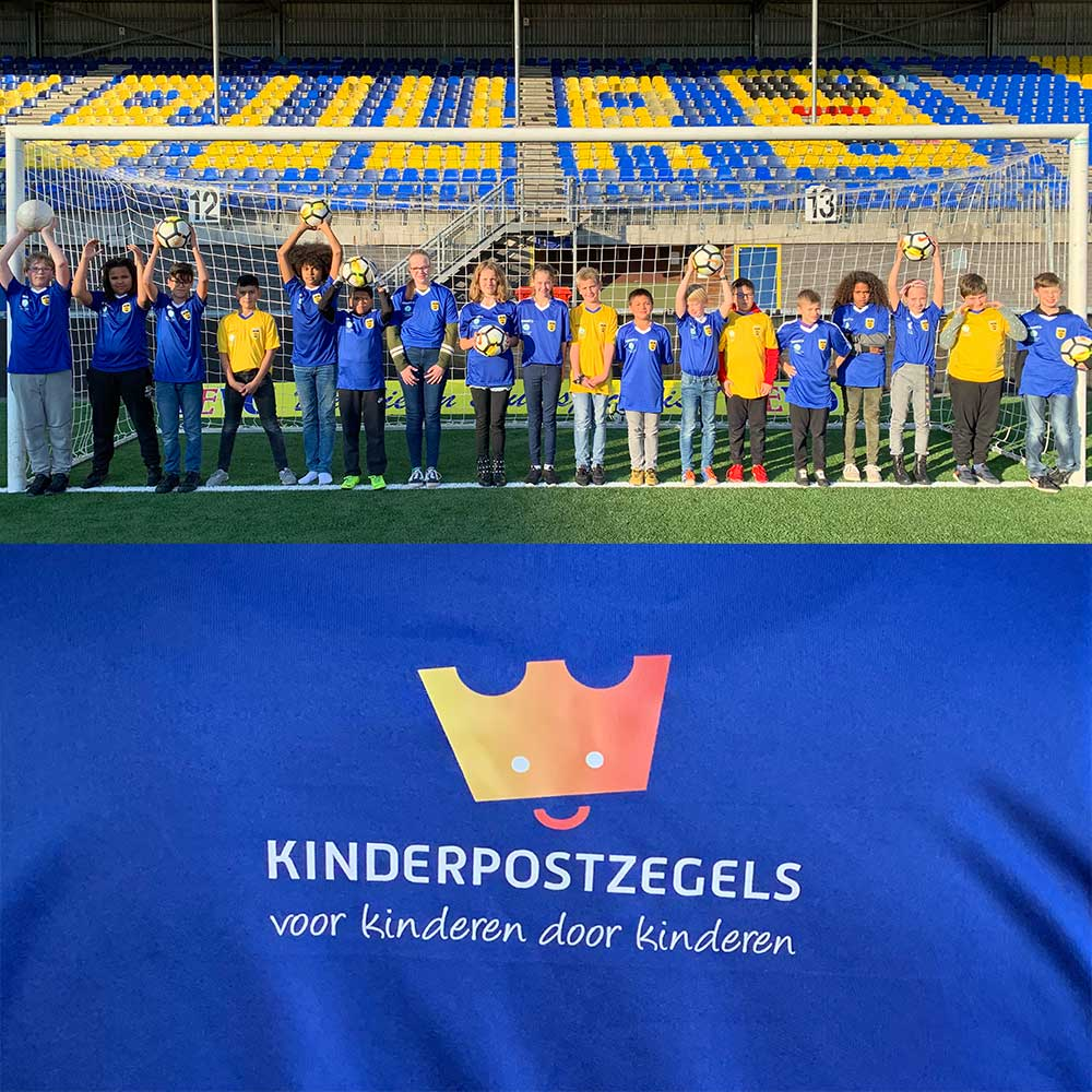 Stichting Kinderpostzegels Steunt Playing For Success Leeuwarden Met €5000,-